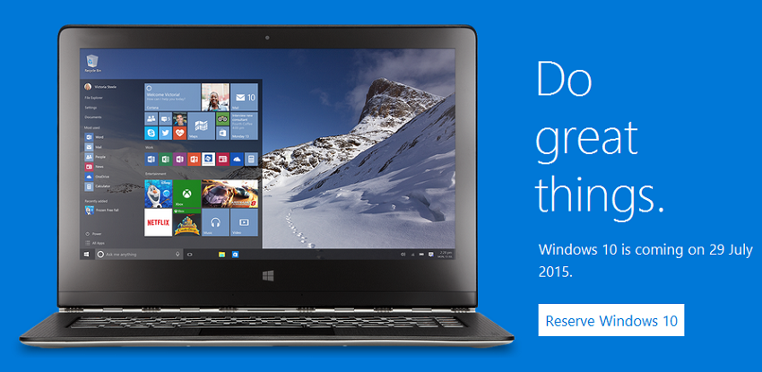 Windows 10 is here!