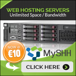 MySHH Web Hosting